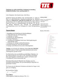 2016-08-09 Einladung außerordentliche Mitgliederversammlung Fußball