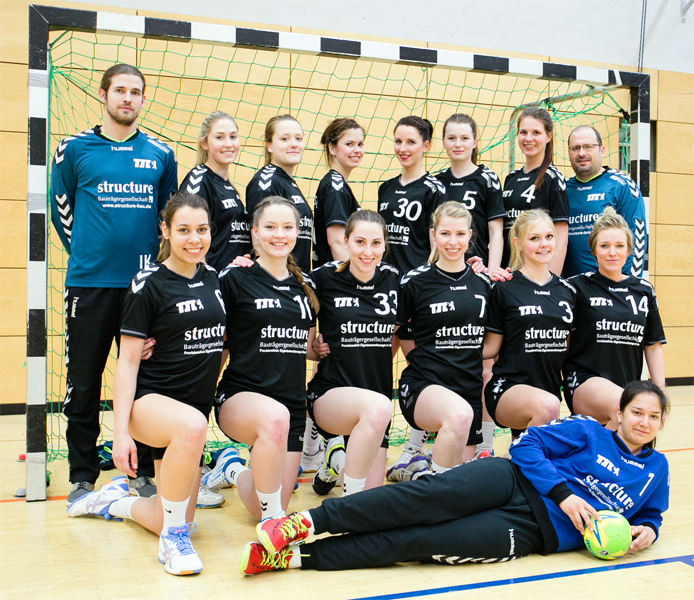 Berliner TSC - Handball Stadtliga Frauen 2015/2016