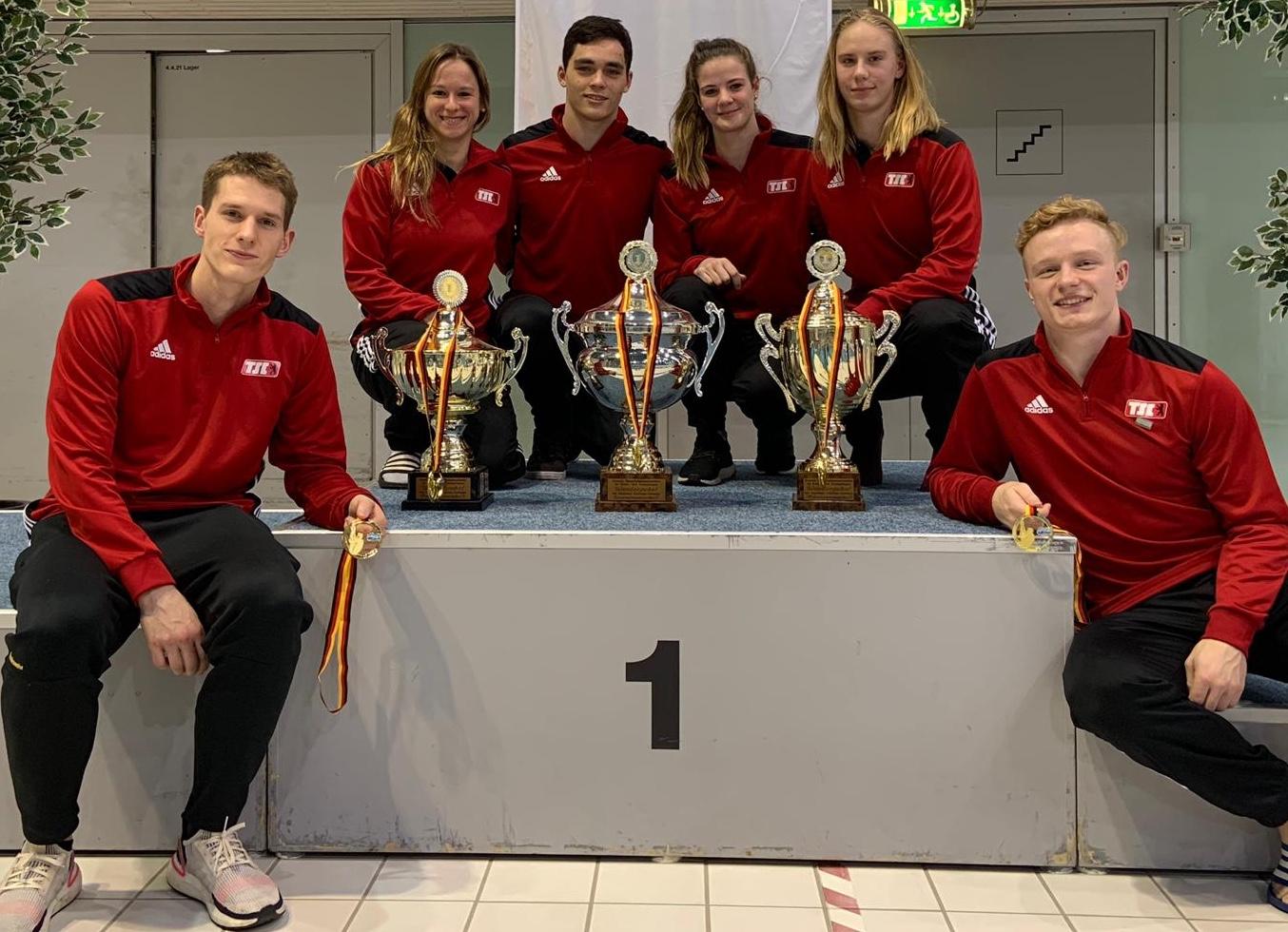 3 Pokale für Berlin!