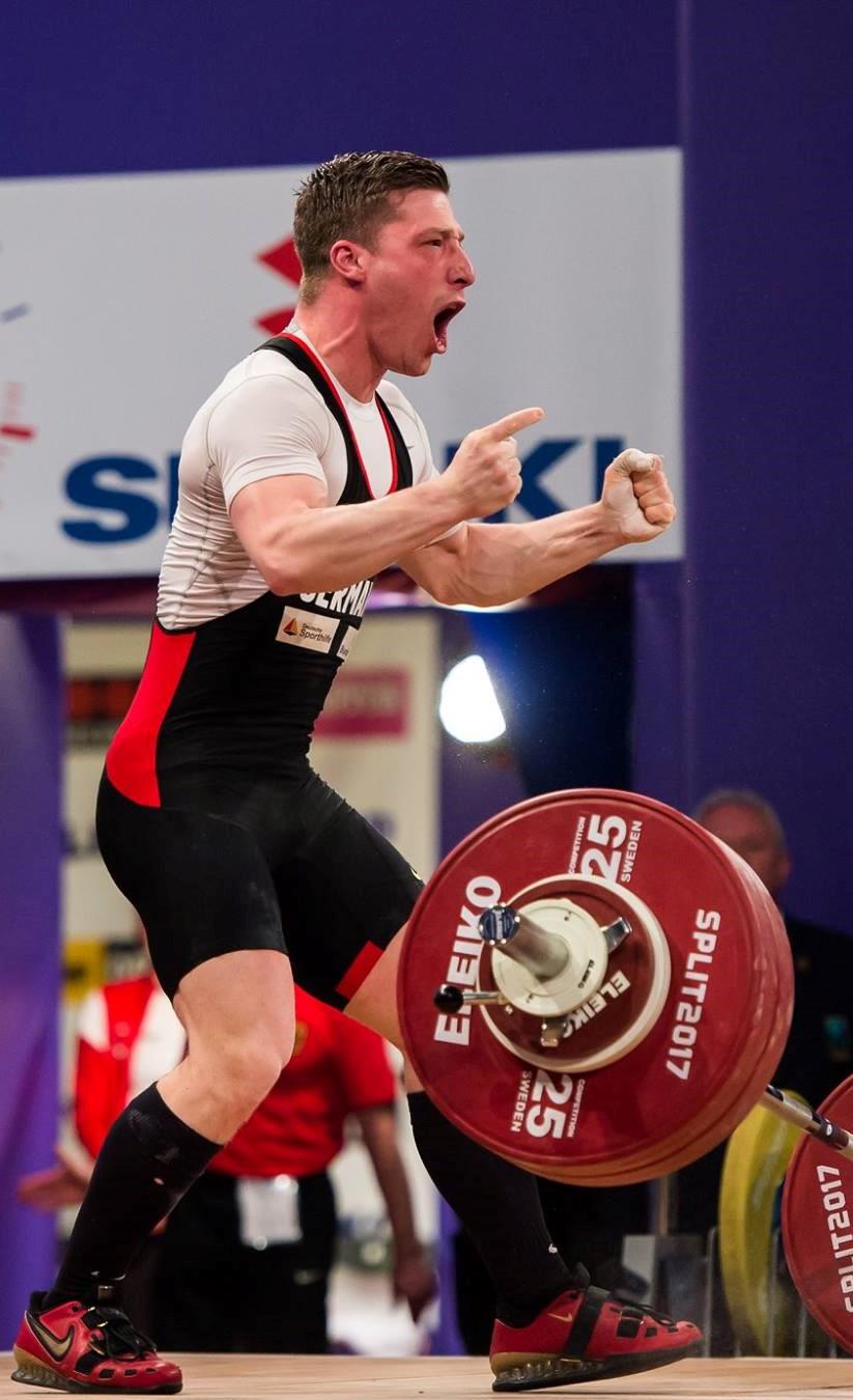 Robert Joachim Gewichtheben